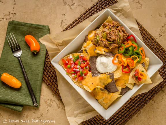 Nachos at The Ranch House, styling by Lisanne Scafine