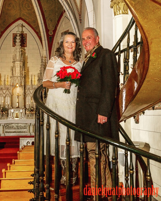 Loretto Chapel welcomed the wedding of Janet and Randy, Santa Fe, NM.