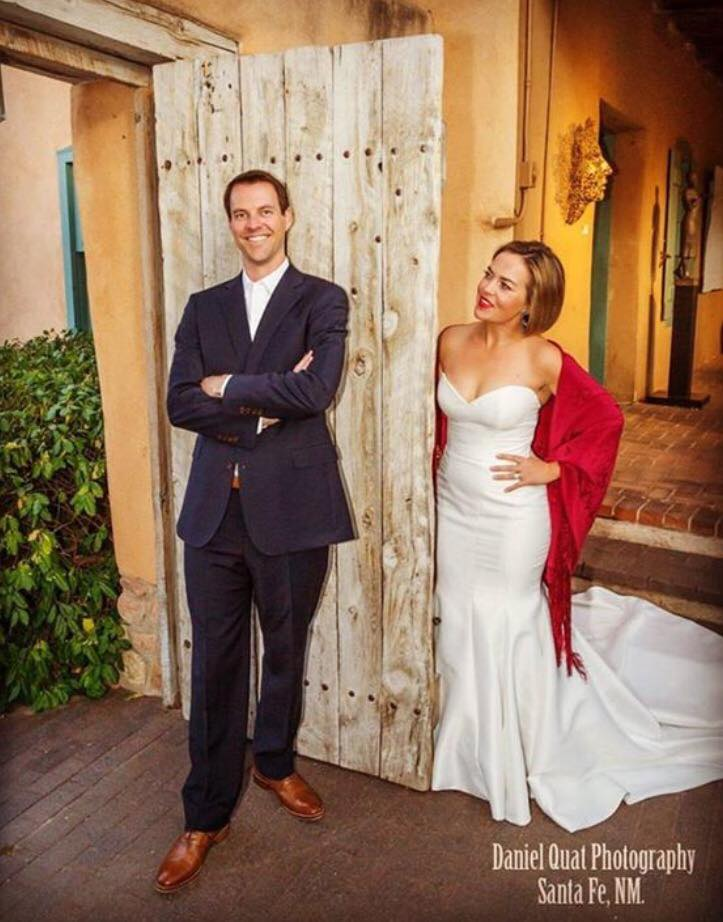 Justin and Kitren getting married at Selby/Fleetwood Gallery on Canyon Road