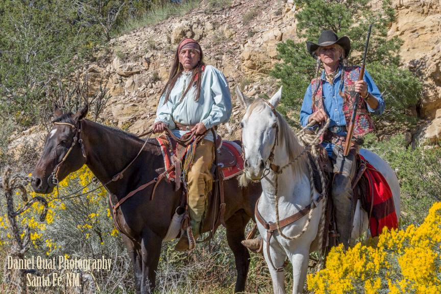 Guarding the Canyon: Ricky Lee and Johnny Black
