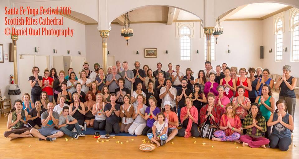 Santa Fe Yoga Festival 2016 Group Shot